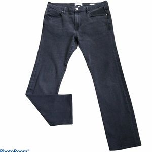 Frame L'Homme Straight Leg Mens Jeans Fade to Gray